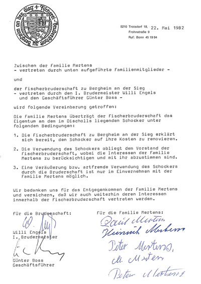 Aalschokker_Urkunde-und-Vertrag